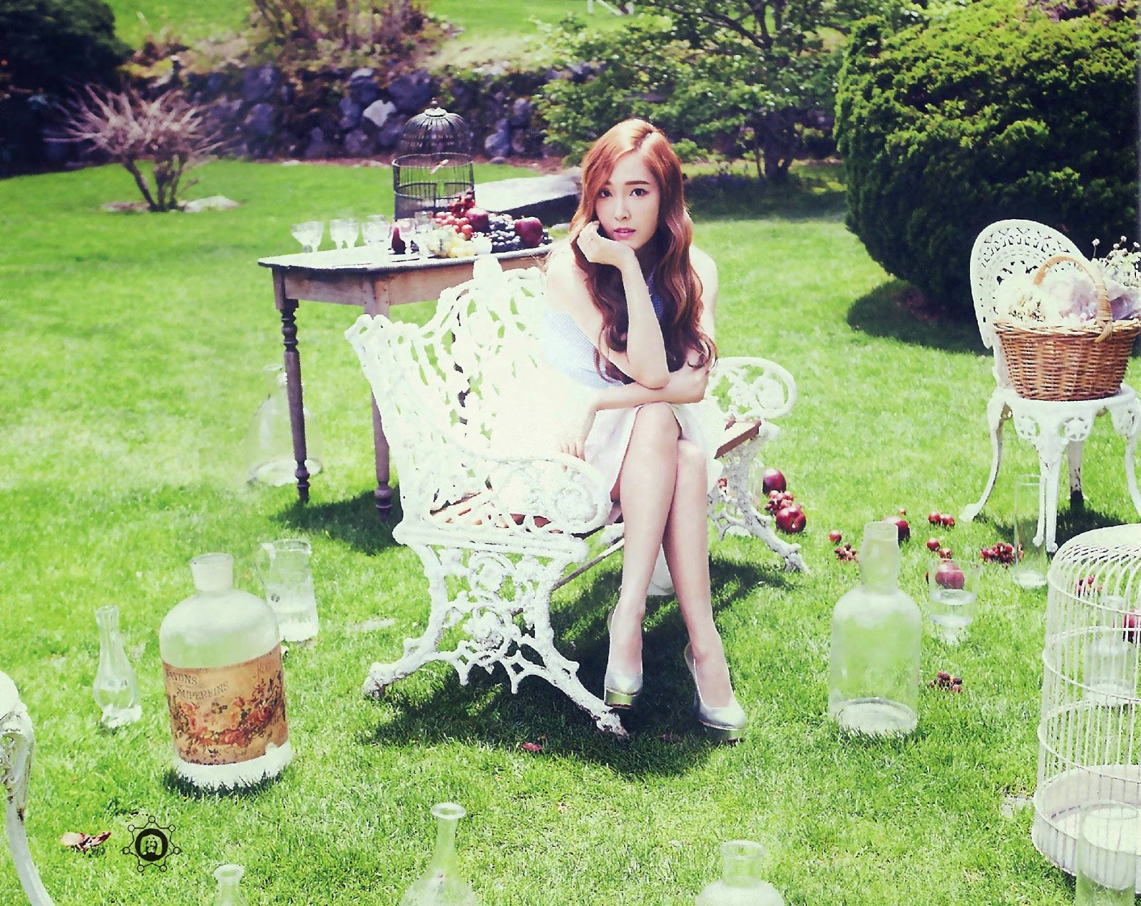 SNSD Jessica (제시카; ジェシカ) Girls Generation The Best Scan Photos 3