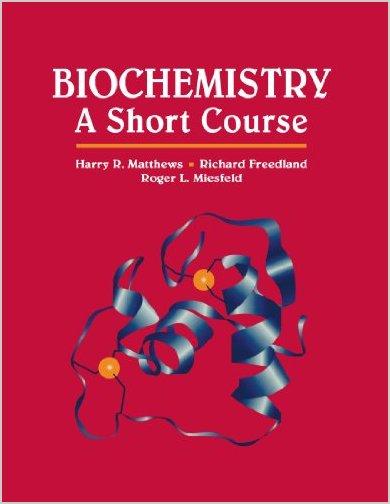 Biochemistry: A Short Course PDF