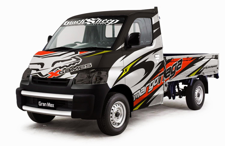 Gran Max Pick Up Full Variasi >> daihatsu granmax cutting sticker | BlackSheep sticker