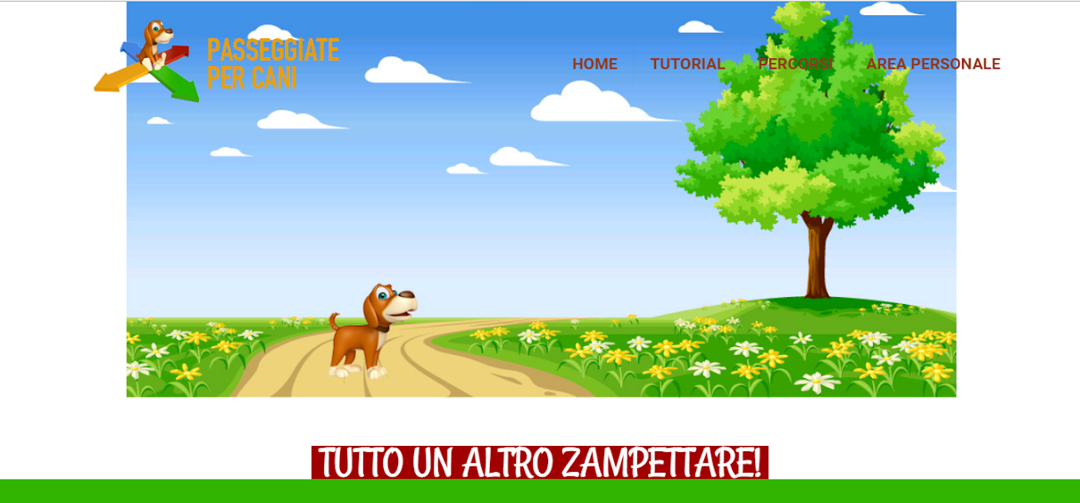 Passeggiate per cani