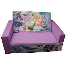 Disney Fairies Flip-Open Slumber Sofa