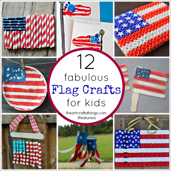 heart crafty things 12 fabulous american flag crafts for kids