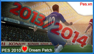 PES 2010] Dream Patch Season 2013/2014 Update!
