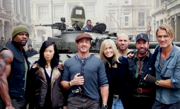 The Expendables 2 Movie Review (2012)