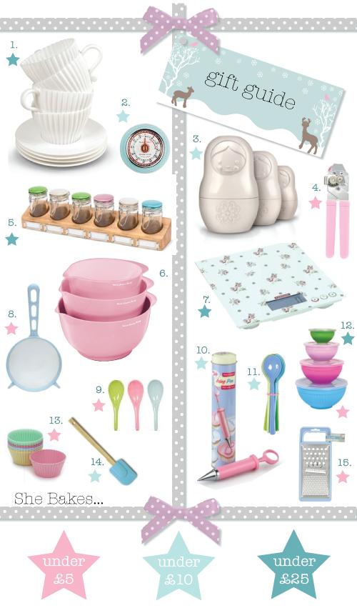 Gift Guide 2011 - She bakes...