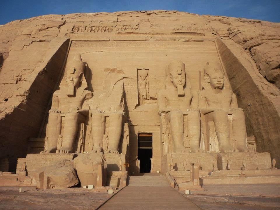 REFLECTIONS: Abu Simble Temples of Ramses II and Nefertari