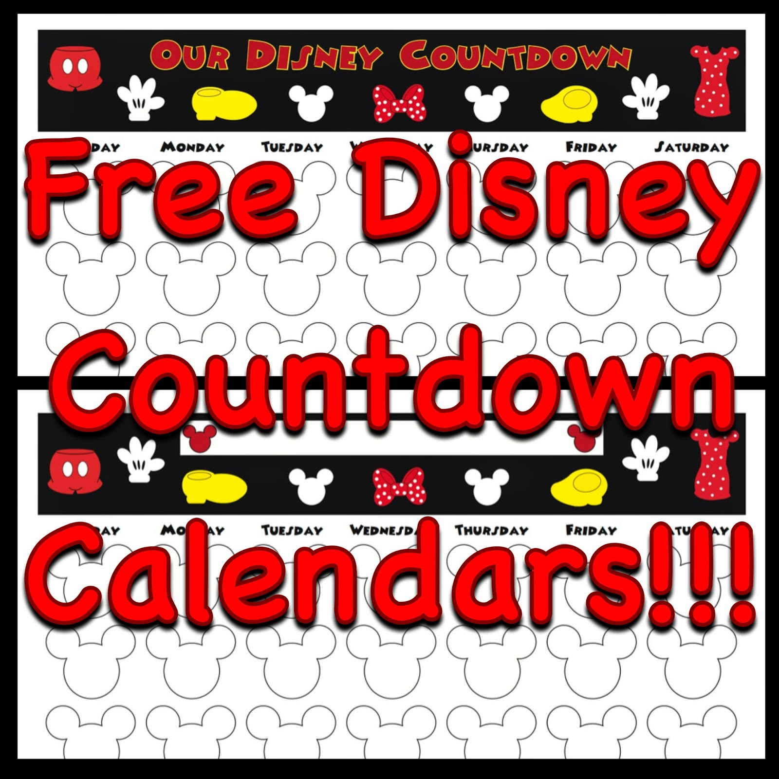 ... Disney Countdown Calendar | Search Results | 2016 Calendar Printable