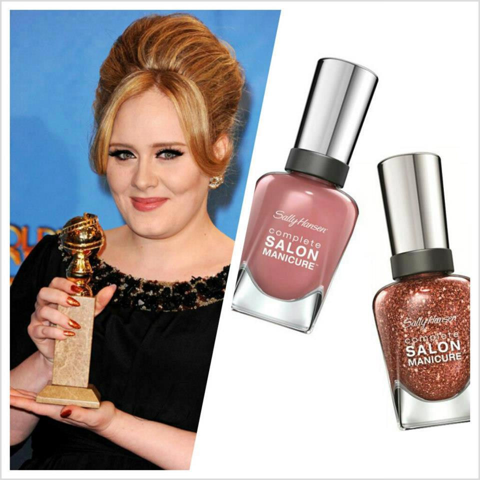 Hold a Golden Globe signature nail look Sally Hansen