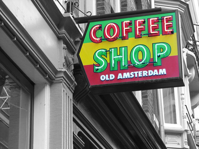 cannabis Amsterdam coffeeshop Holland