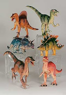 Dinosaur Birthday Cake Toppers
