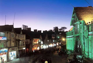 Shimla (Best Honeymoon Destinations In India) 2