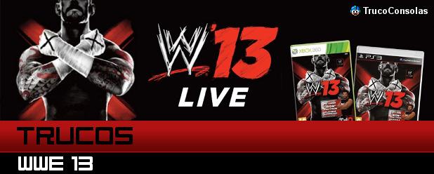 Trucos WWE 13 PS3 XB360 Wii