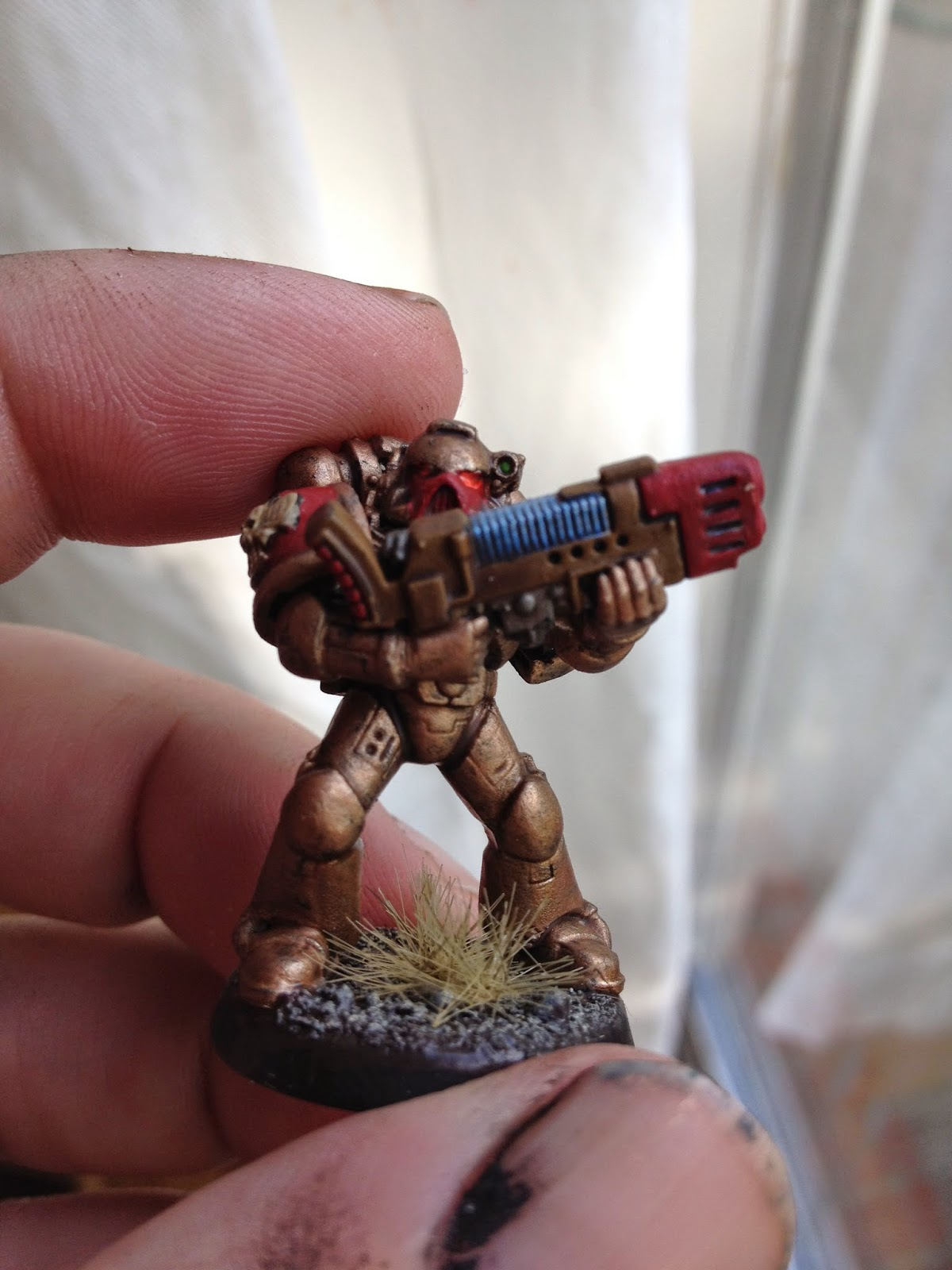 A Small World - My Life in Miniatures: Tutorial: Space Marine Plasma Coils
