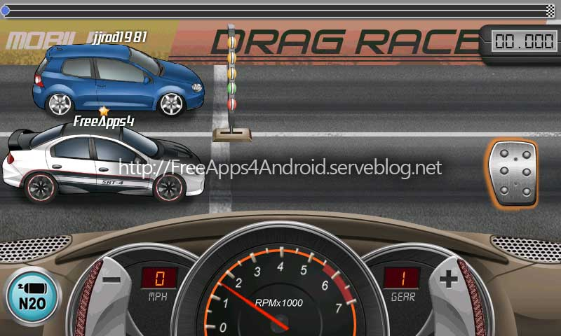 Free Games 4 Android: Drag Racing Premium v1.1.2
