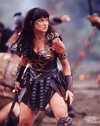 XENA WARRIOR PRINCESS COSTUMEXena Warrior Princess Angry