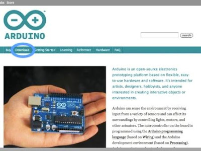 Click On The Download Link On Arduino Official Website