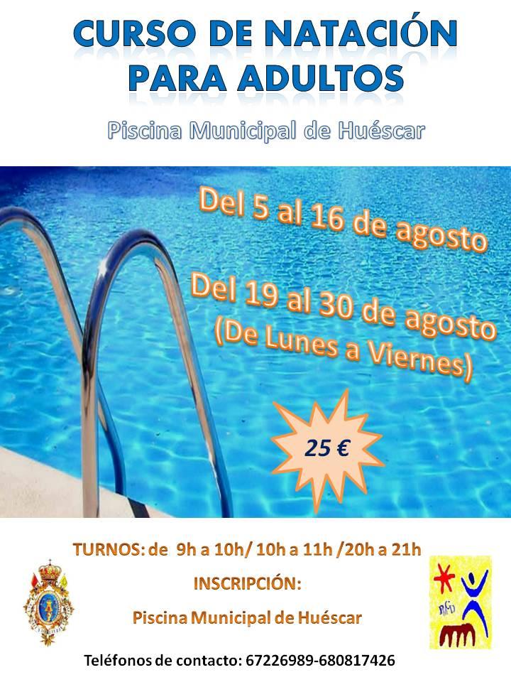 Curso natacion piscina huescar veranovivo nadar archivos for Piscina de natacion