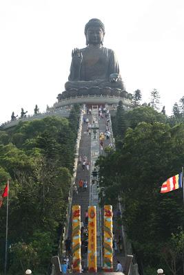 (Hong Kong) - Lantau island - Giant Buddha