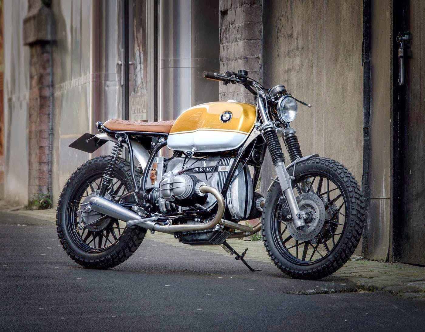 motogp bmw r80 scrambler by down out caf racers. Black Bedroom Furniture Sets. Home Design Ideas
