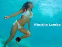 Bollywood actress minisha lamba bikini photoshoot