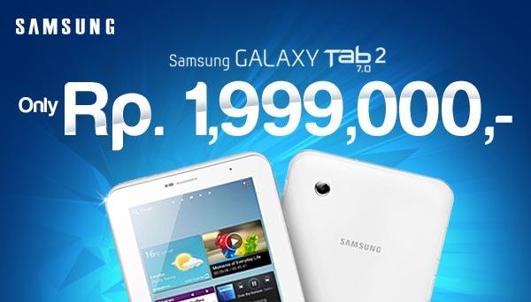 Tablet Murah Samsung Galaxy 1 Jutaan – Harga Galaxy Tab 2 7.0
