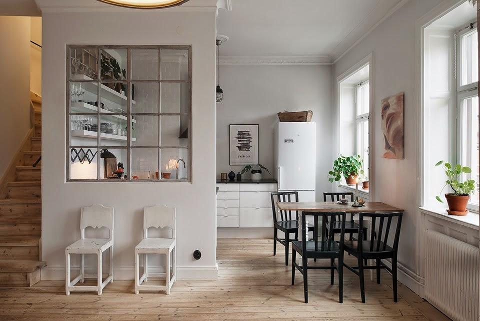 Decandyou ideas de decoraci n y mobiliario para el hogar - Cocina salon separados cristal ...