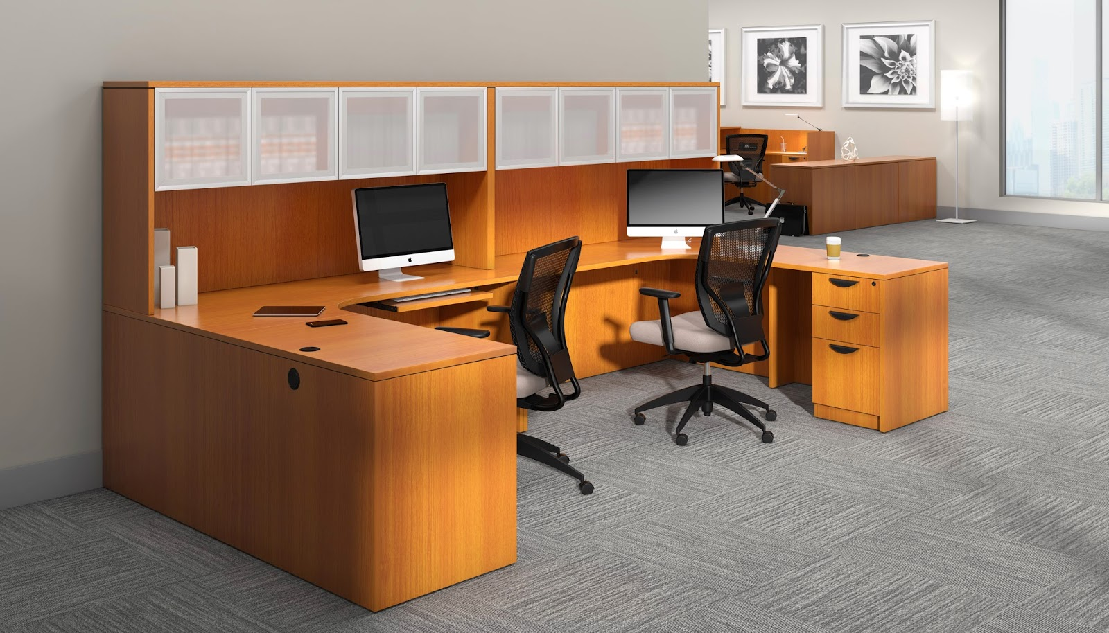 Superior Laminate Multi User Desk