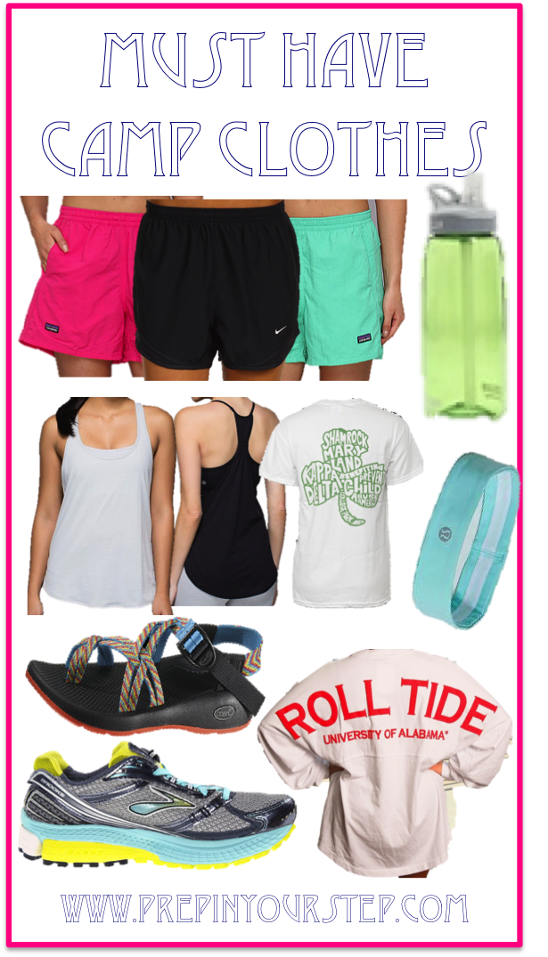 Prep In Your Step: Must Have Camp Clothes