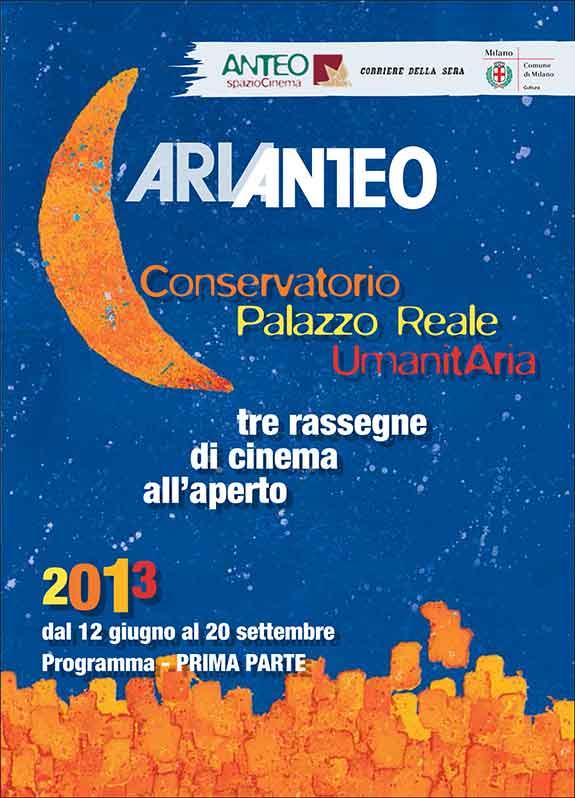 Cosa fare a ferragosto a Milano: cinema all'aperto con ARIANTEO