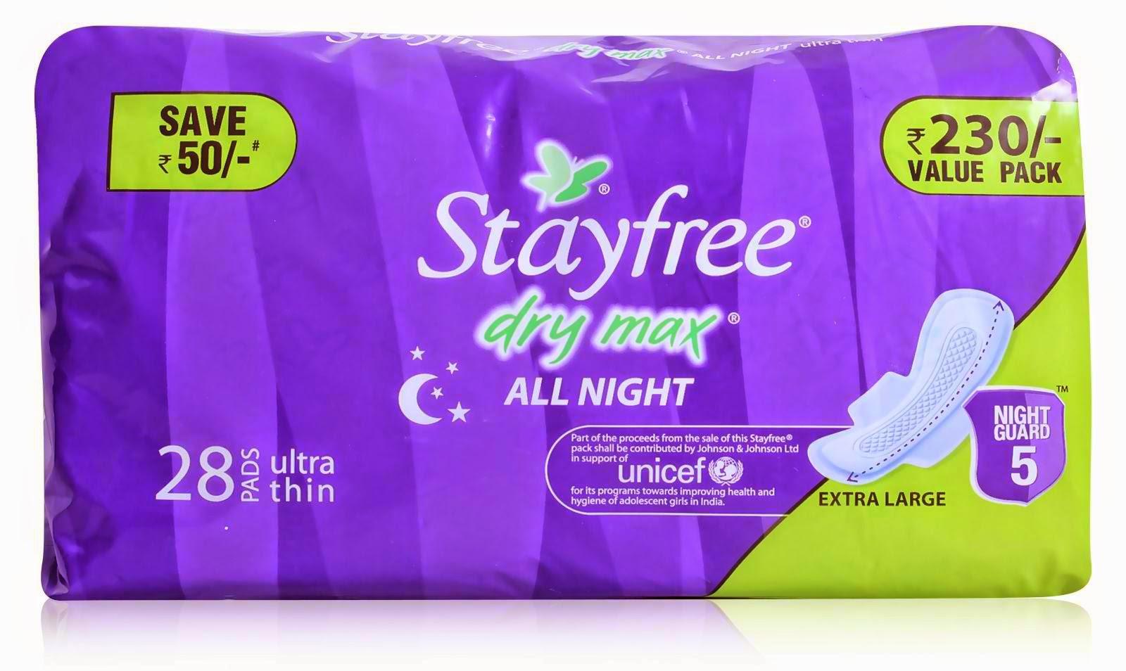 Stayfree napkin