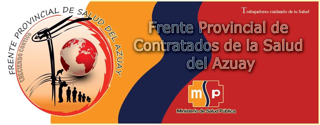 Frente Provincial de Contratados de la Salud del Azuay