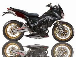 foto modifikasi motor honda cs1