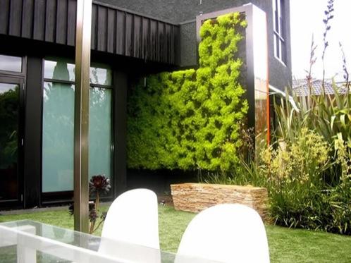 Doos interiorismo jardines verticales en exterior - Jardines verticales exterior ...
