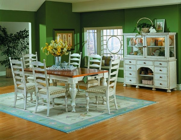 Cottage Style Dining Room Decorating Ideas