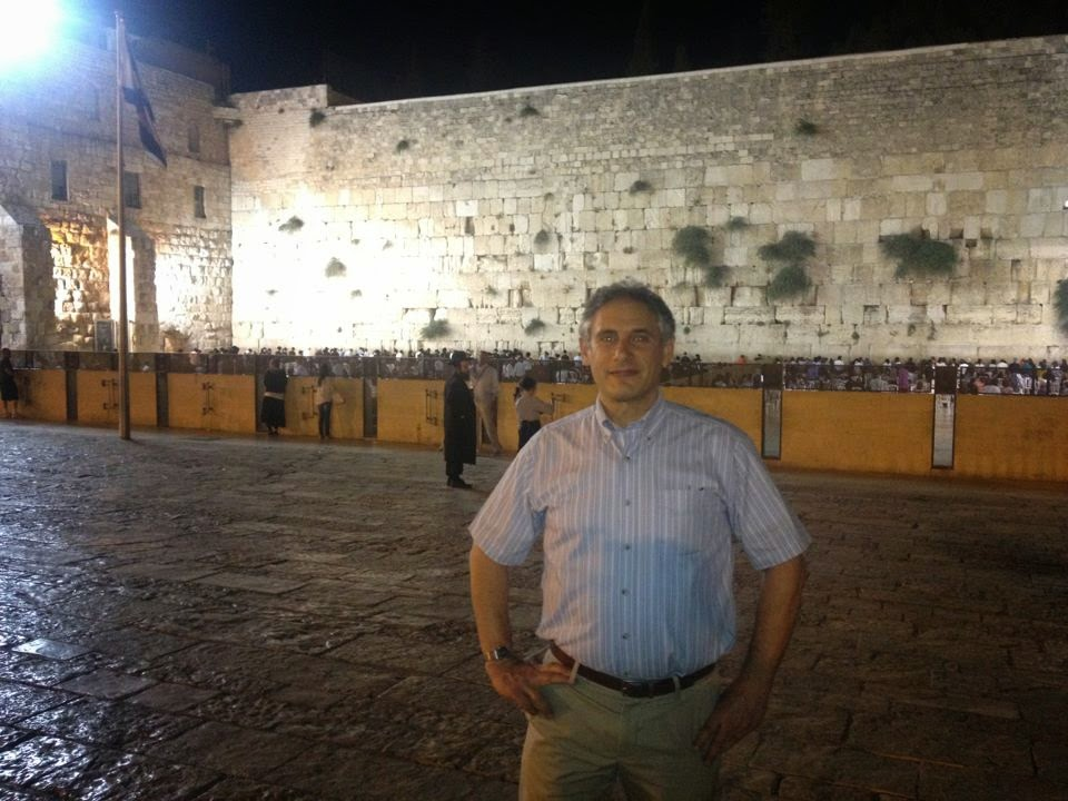 Penticon Founder and Luach Developer Howie Hirsch in Jerusalem