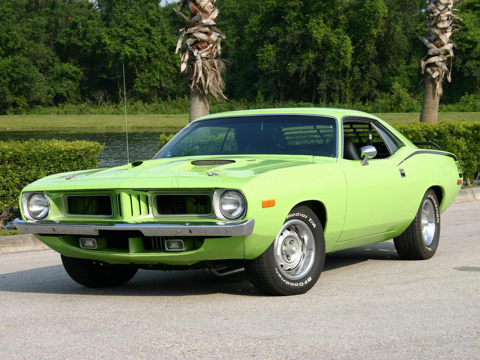 Luxury Cars First Muscle Car of Original Plymouth Barracuda