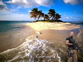Dwayne Johnson Desktop Wallpapers The Rock Fast Five Movie in Beautiful Island Background