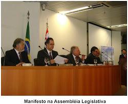 Manifesto na Assembléia Legislativa de São Paulo