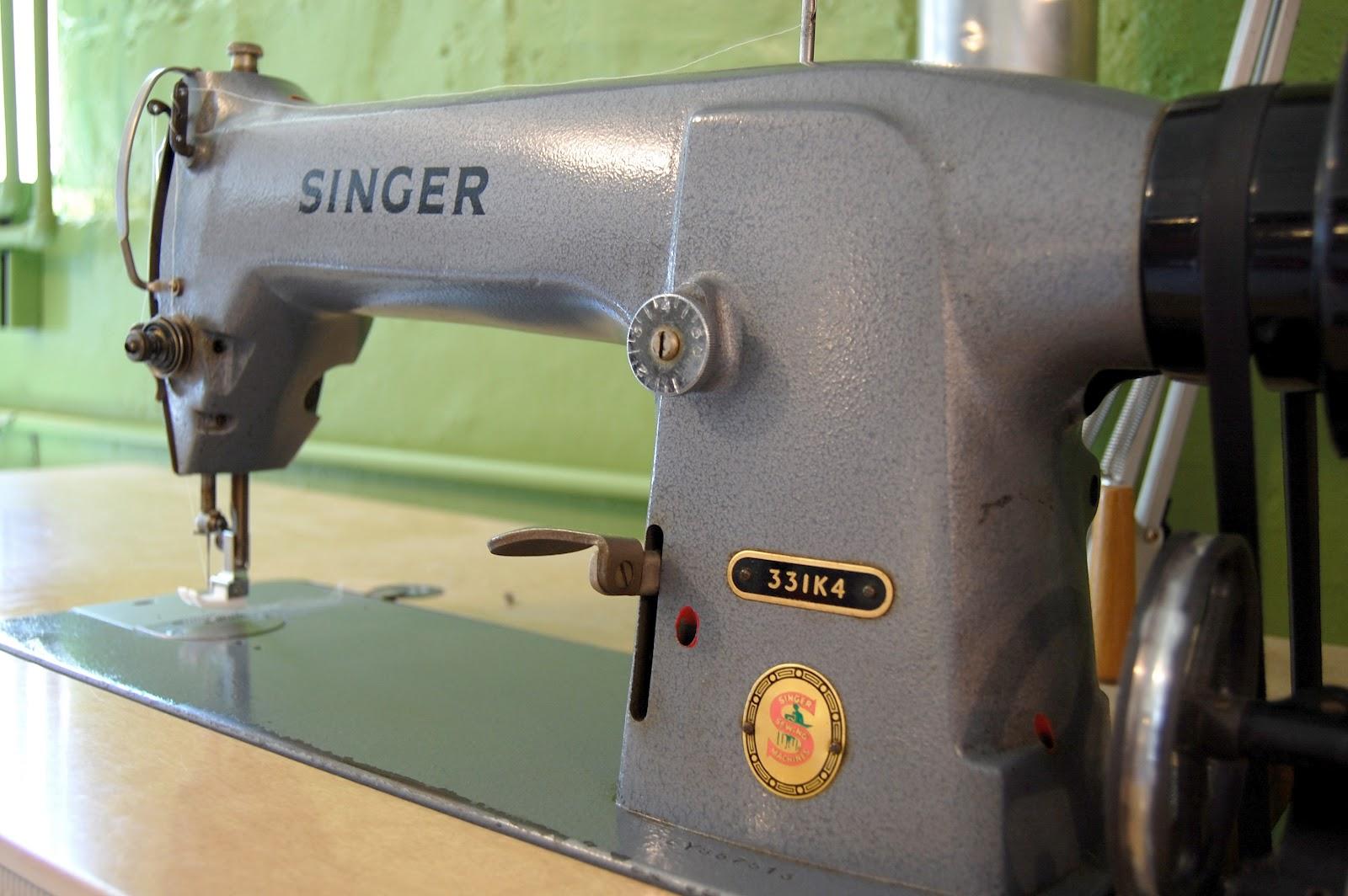 Miss sews it all: use it or lose it: 1966 singer 331k4