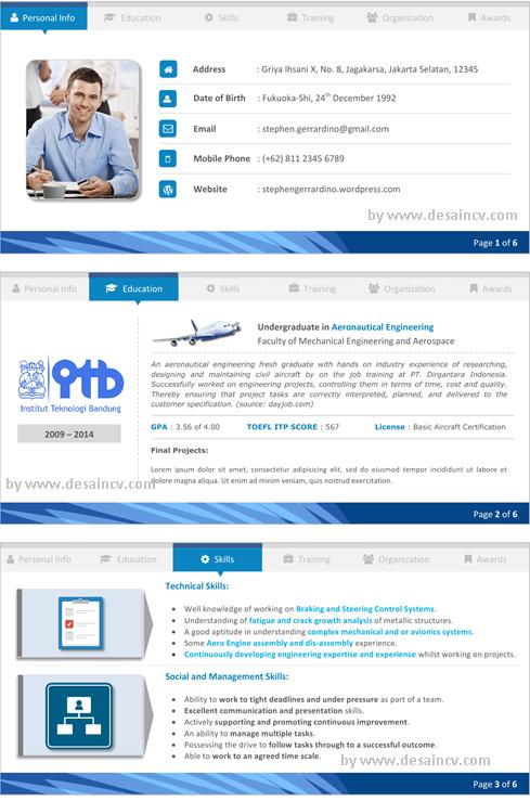 resume template on microsoft word 2010