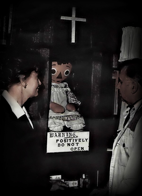 Annabelle The Haunted Raggedy Doll Unsolved Mysteries In