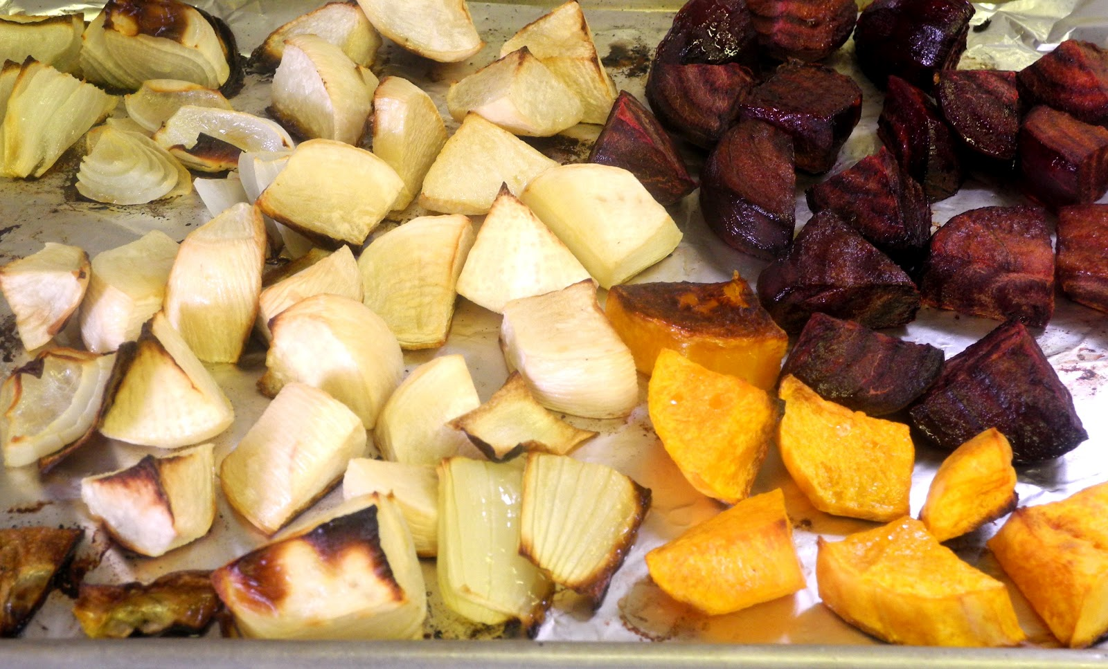 My Sweet and Savory: My Meatless Mondays - Roasted Root Vegetables