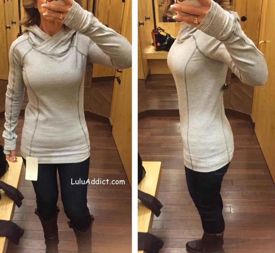 lululemon think fast hoodie pique