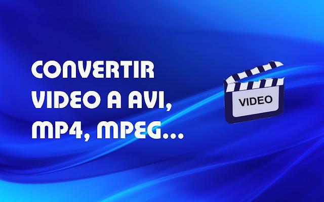 Como cambiar el formato de un video