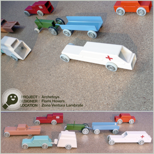 (iron toys - toys di ferro) ARCHETOYS - FLORIS HOVERS - ZONA VENTURA LAMBRATE