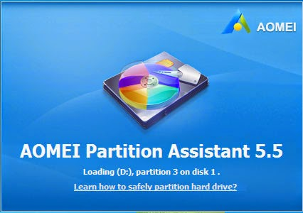 AOMEI Partition Assistant 5.5 - Hard Disk partition tool