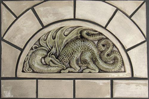Decorative Handmade Ceramic Tile January 2012