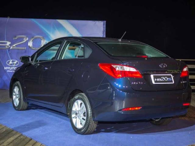 novo Hyundai HB20 S Sedã - perfil traseiro