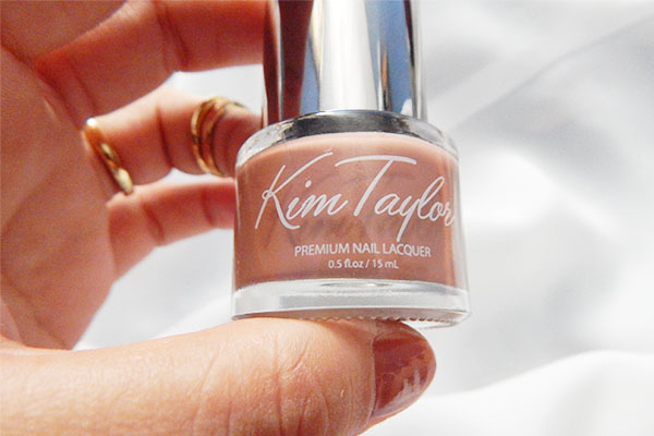 Kim Taylor nail lacquer brownie mamá fashionista blog