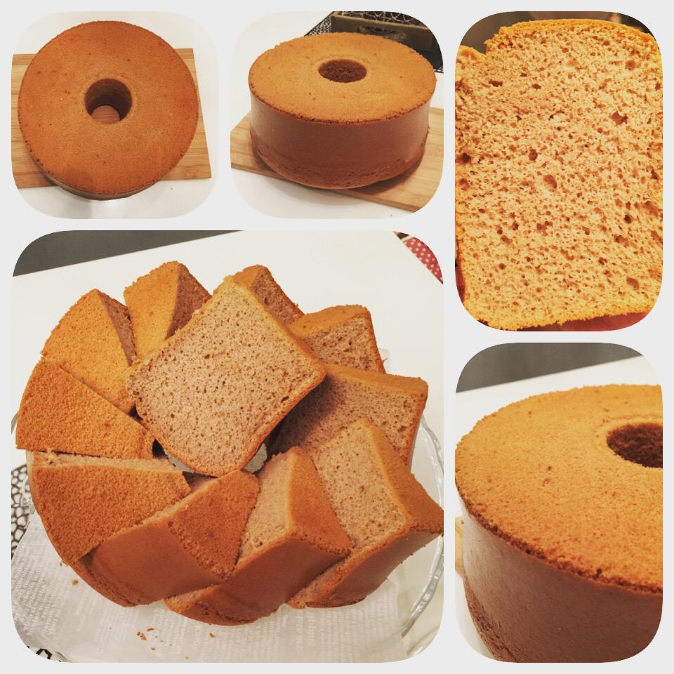 Baking Mom Mocha Chiffon Cake